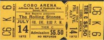 Rolling Stones database 1972
