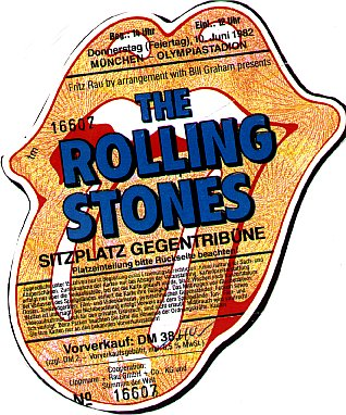 Rolling Stones database 1982